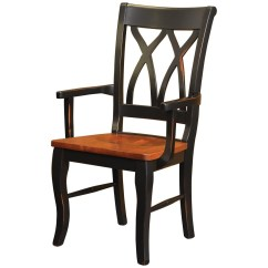 Double X Back Chairs Metal Chiavari Wholesale Rotmans Amish Ellis Cove Dining Arm Chair With By