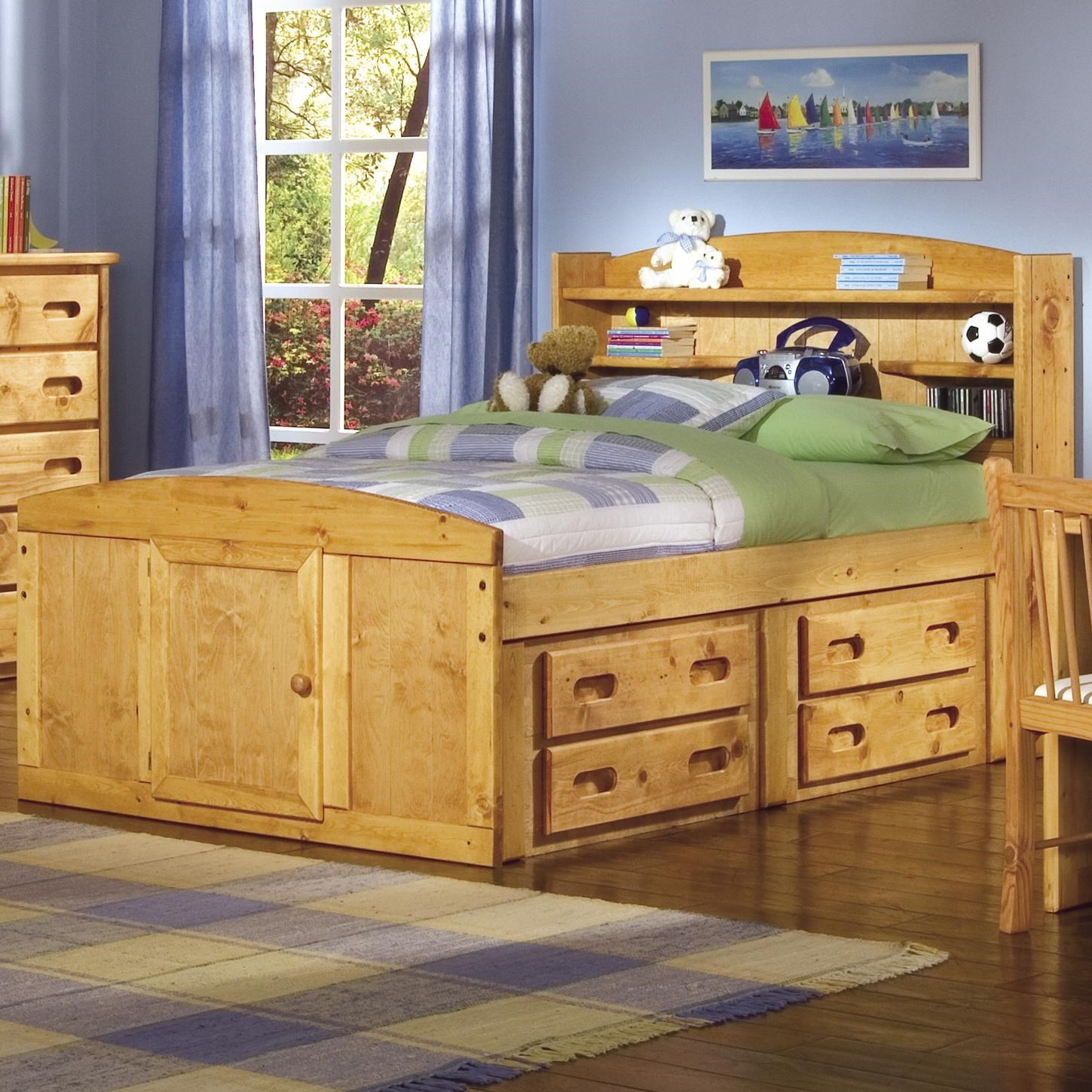 Bunkhouse Twin Palomino Captain S Bed