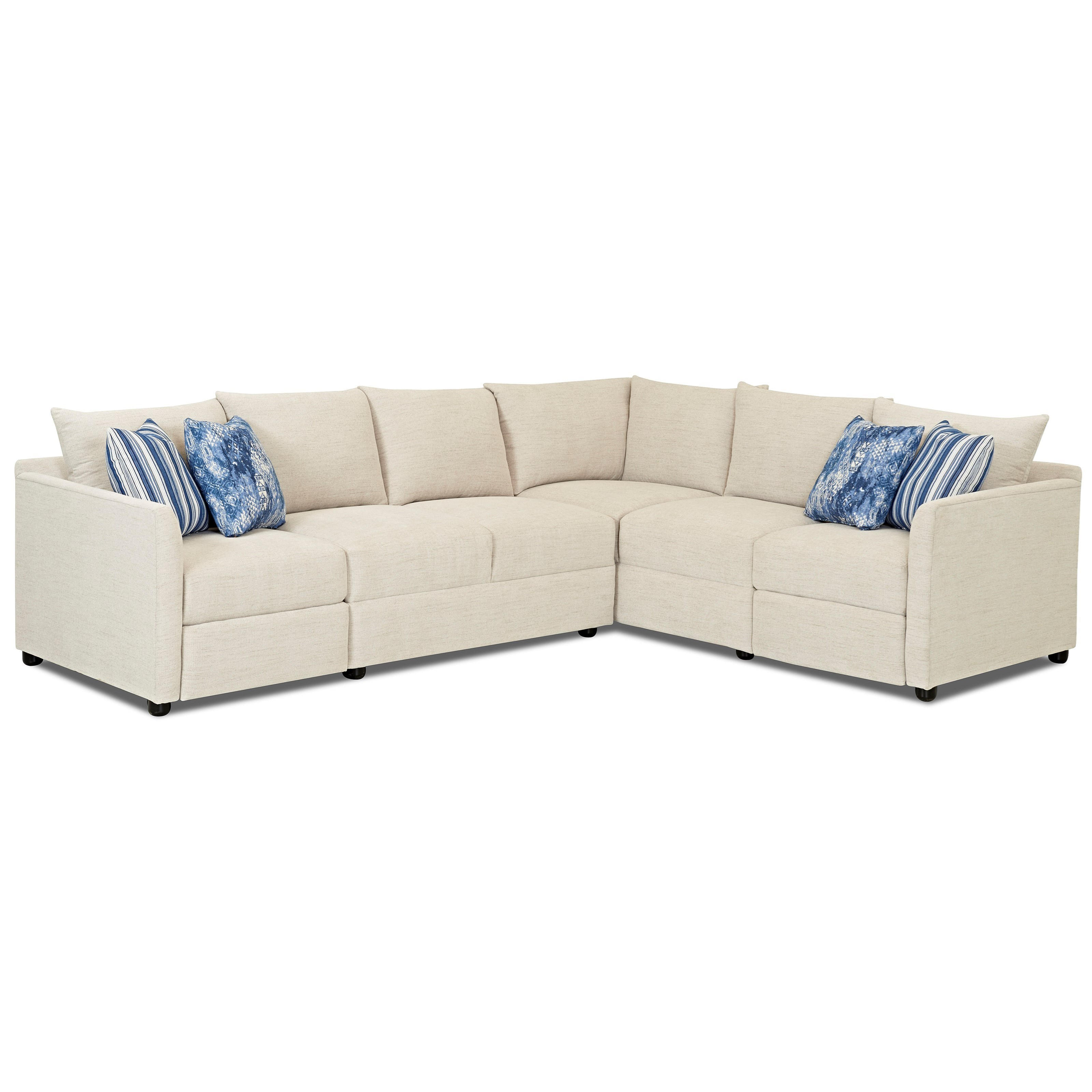 sofas in atlanta small pull out sofa bed trisha yearwood home collection by klaussner two piece power hybrid reclining sectional with raf corner