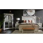 Trisha Yearwood Home Collection By Klaussner Nashville 749 690 Tvar Ryman Armoire With Glass Doors And Hanging Clothes Rod Sam Levitz Outlet Armoires