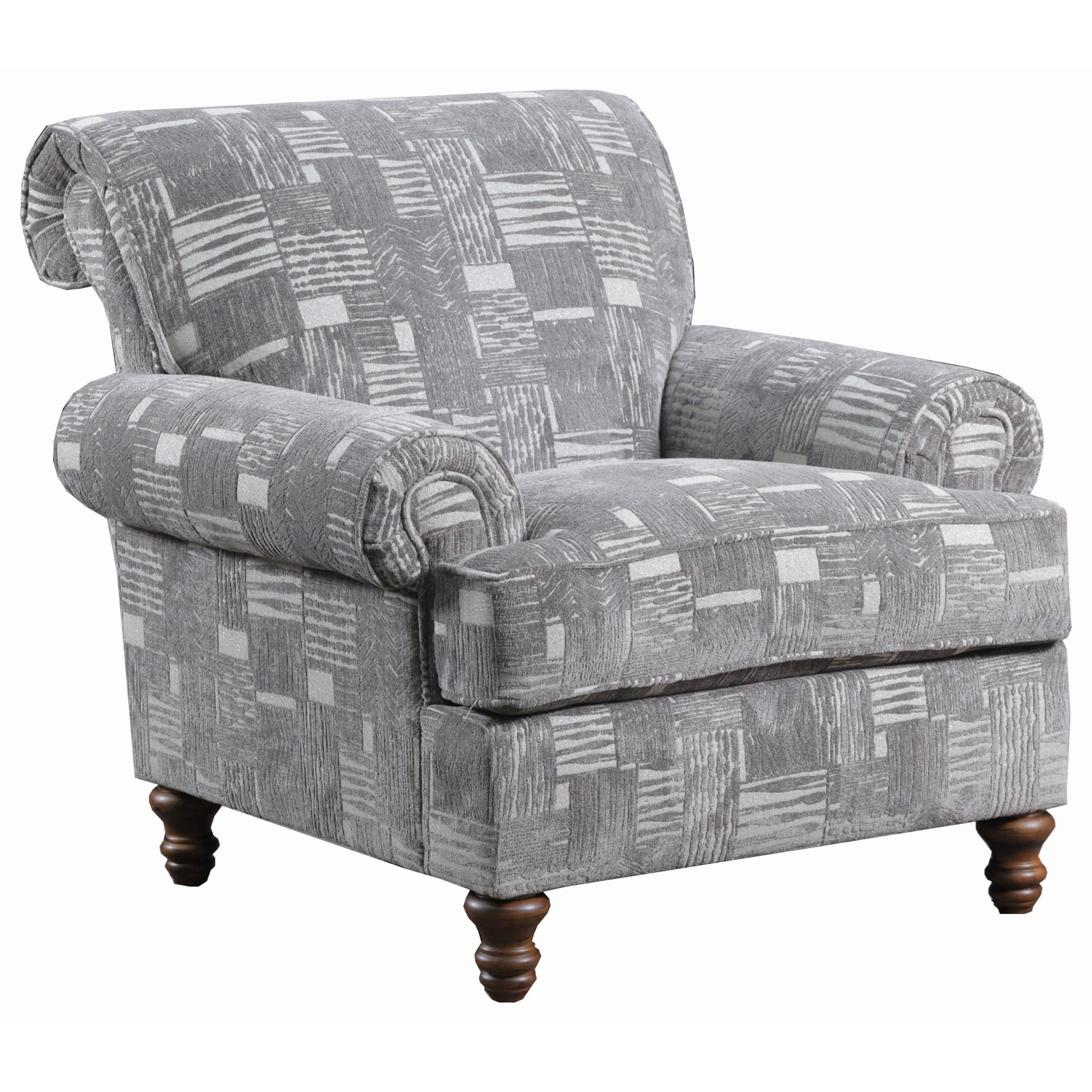 transitional accent chairs target grey dining chair simmons upholstery 9255br with turned legs