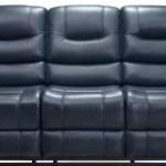 Px2908 Navy Dual Reclining Sofa