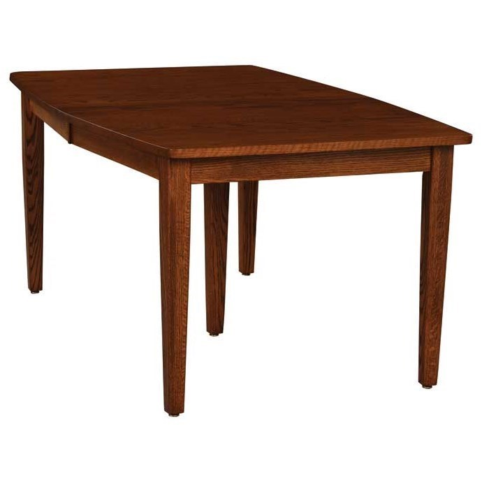 amish kitchen tables island table with chairs weaver woodcraft custom dining standard leg saugerties diningstandard