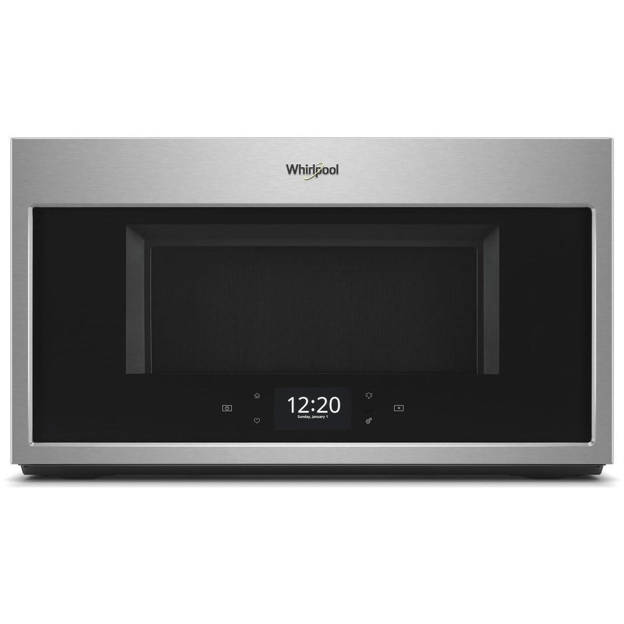 whirlpool 1 9 cu ft smart over the