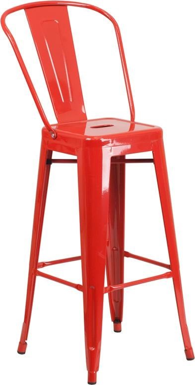 indoor outdoor chairs rolled arm chair winslow home metal win 1363 30 high red chairs30 barstool