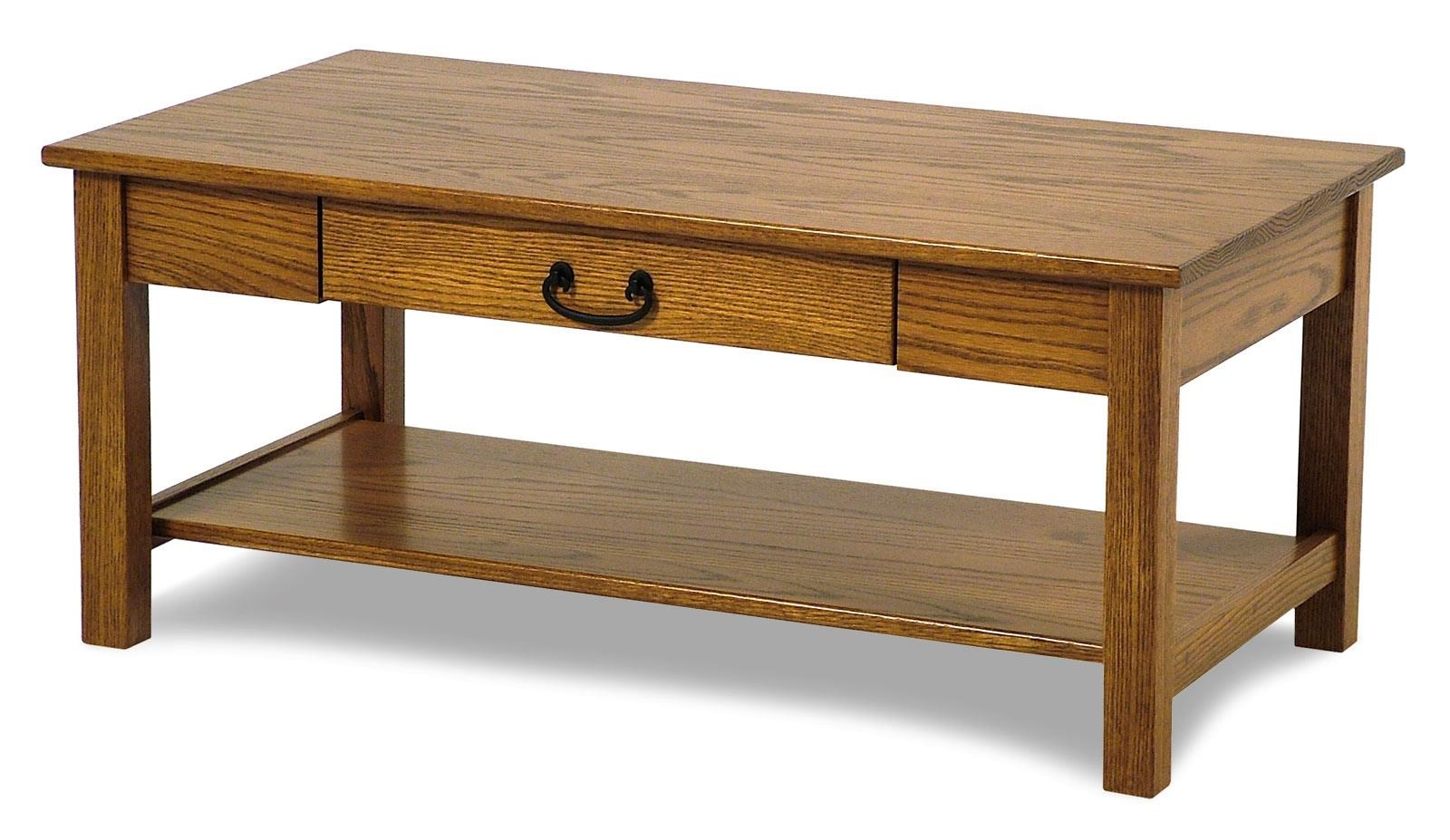 amish built sofa tables office furniture table seeley oak cocktail rotmans or coffee