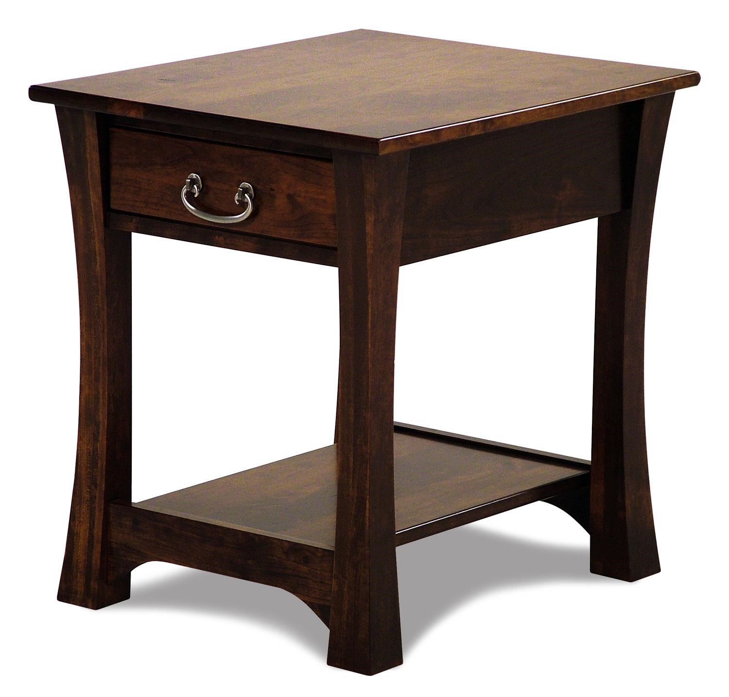 amish built sofa tables how to clean woodbury cherry end table rotmans