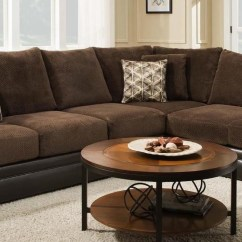 8642 Transitional Sectional Sofa With Chaise By Albany Microfiber Bed Essence Grp 8645 2