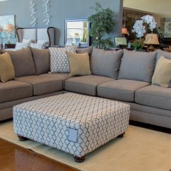 8642 Transitional Sectional Sofa With Chaise By Albany Single Bed Lounge