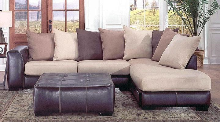 8642 transitional sectional sofa with chaise by albany venta de fundas para sofas en bogota leather review home co