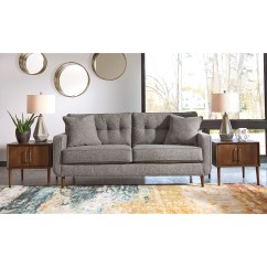 Navasota Charcoal Sofa Ashley Furniture Difference Between Couch And Chesterfield Sofas Hariston By