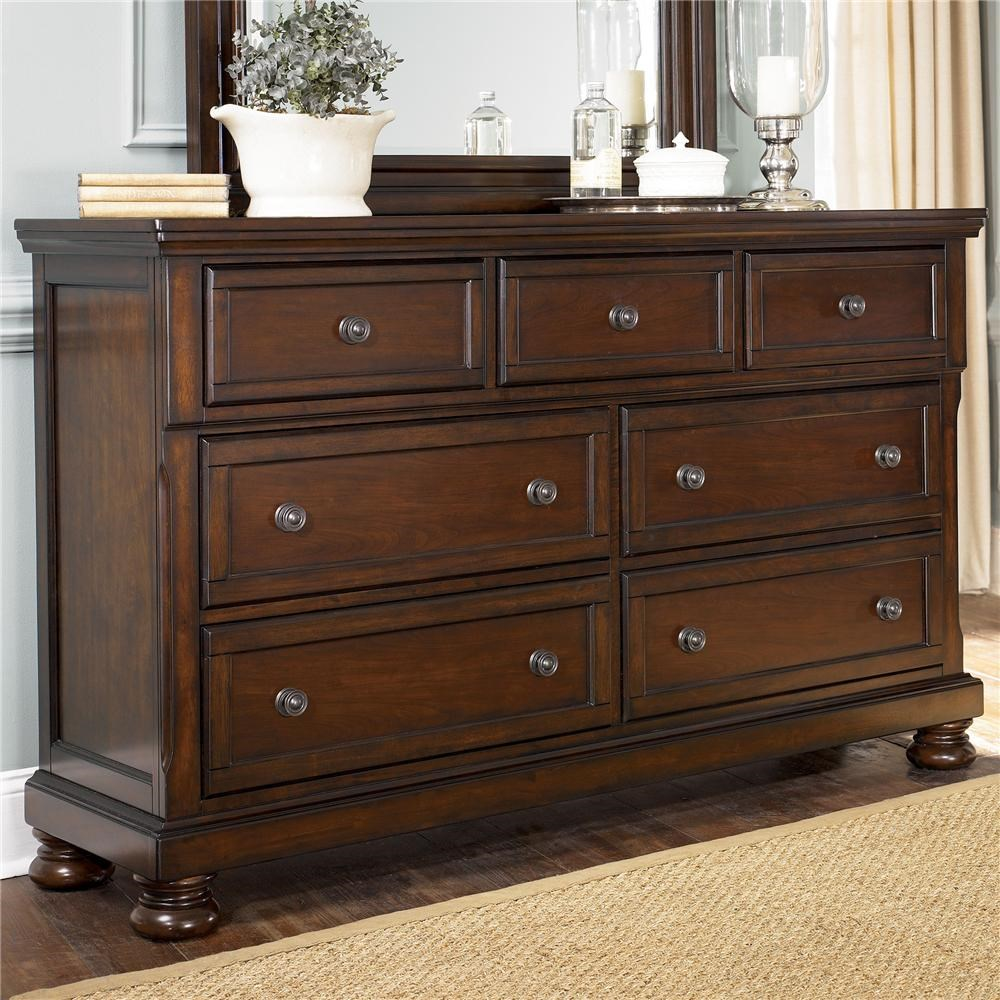 Ashley Furniture Porter 7 Drawer Dresser Wayside