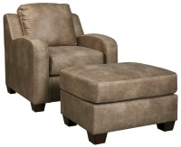 Benchcraft Alturo Contemporary Faux Leather Chair ...
