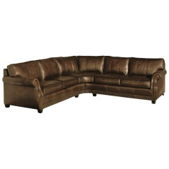 Bernhardt Leather Sofas Modern Sectional Sofa Thesofa