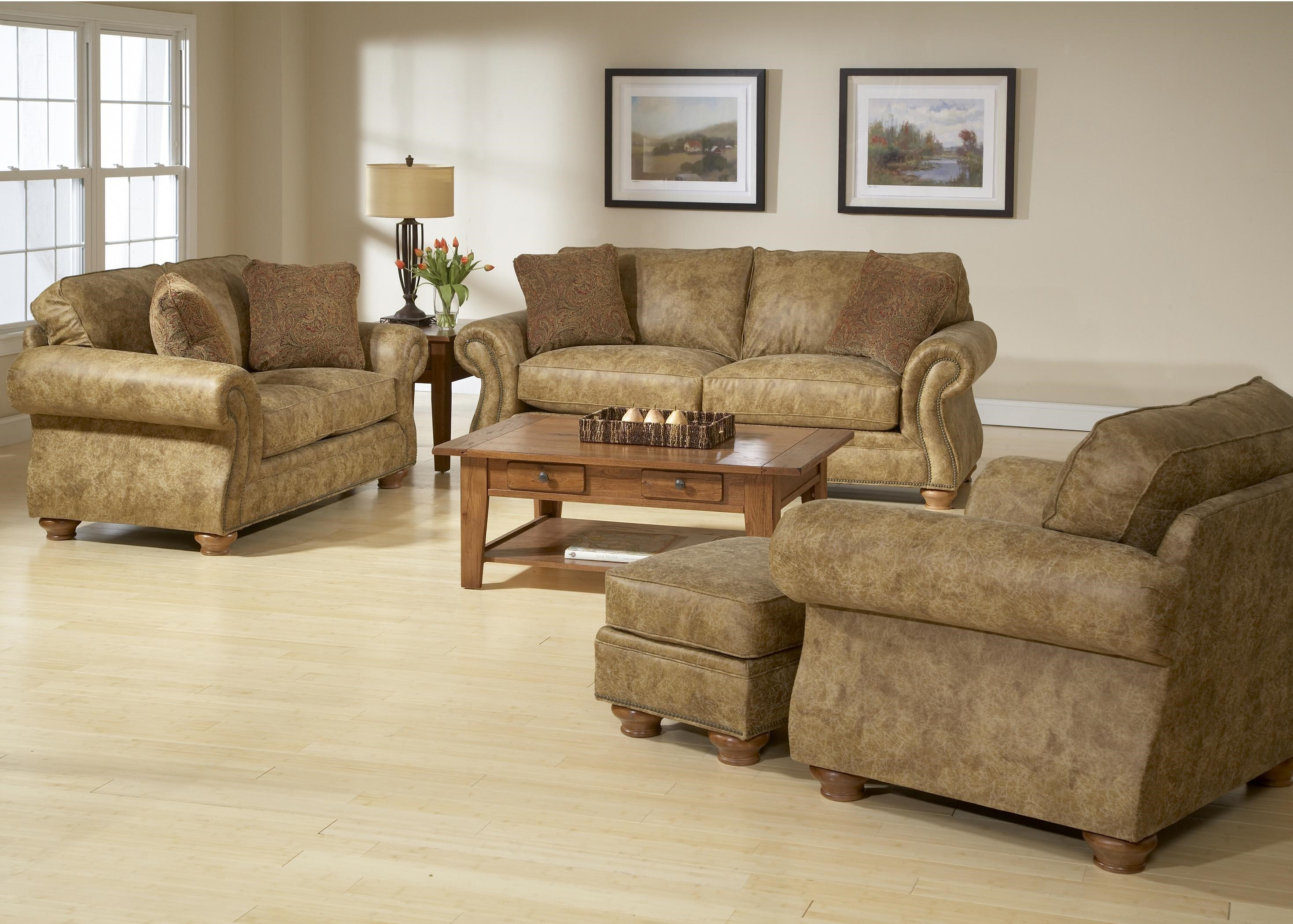 broyhill laramie sofa fabric apt size sofas furniture recliner