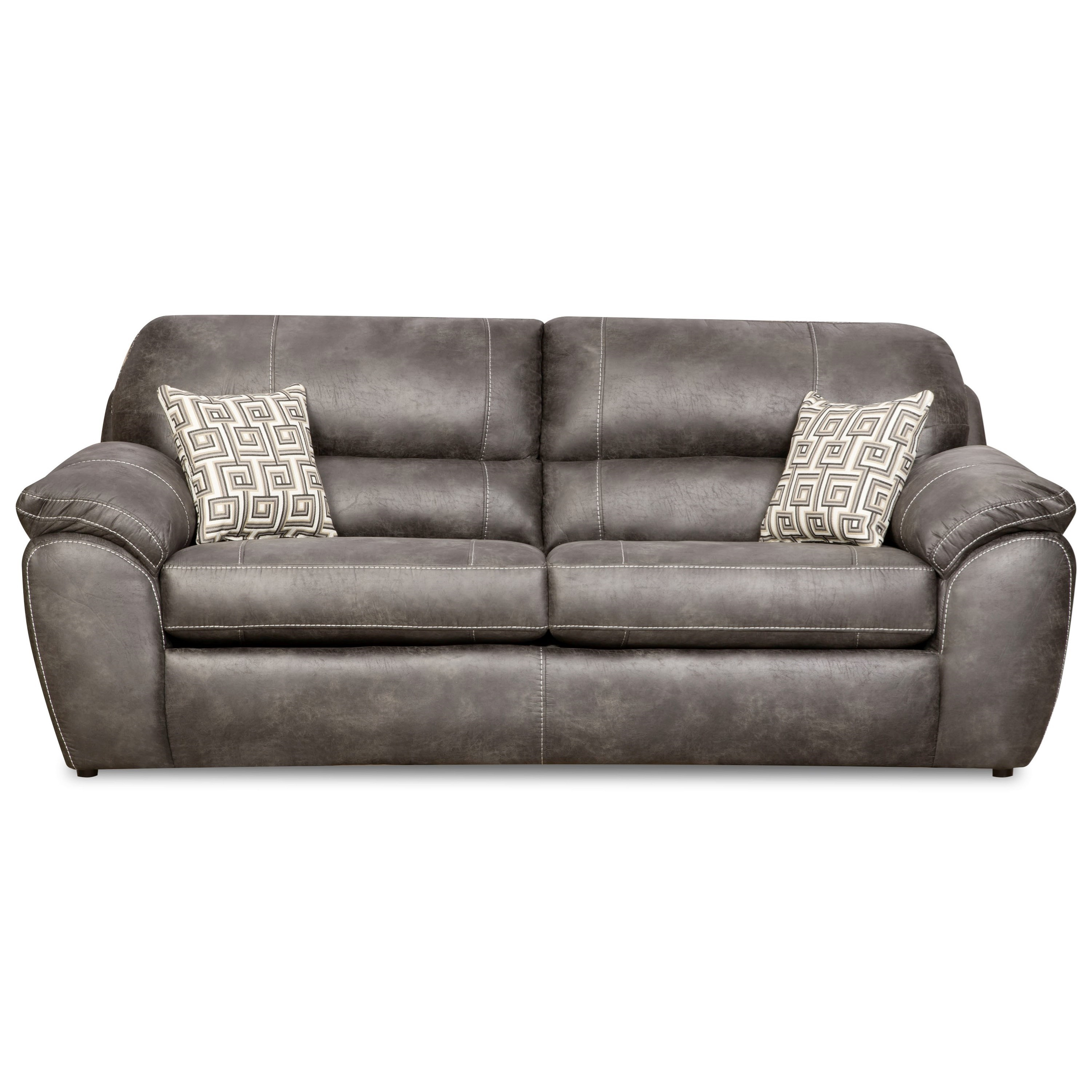corinthian furniture sofa reviews brown room decor plush brand new grey corner with swivel