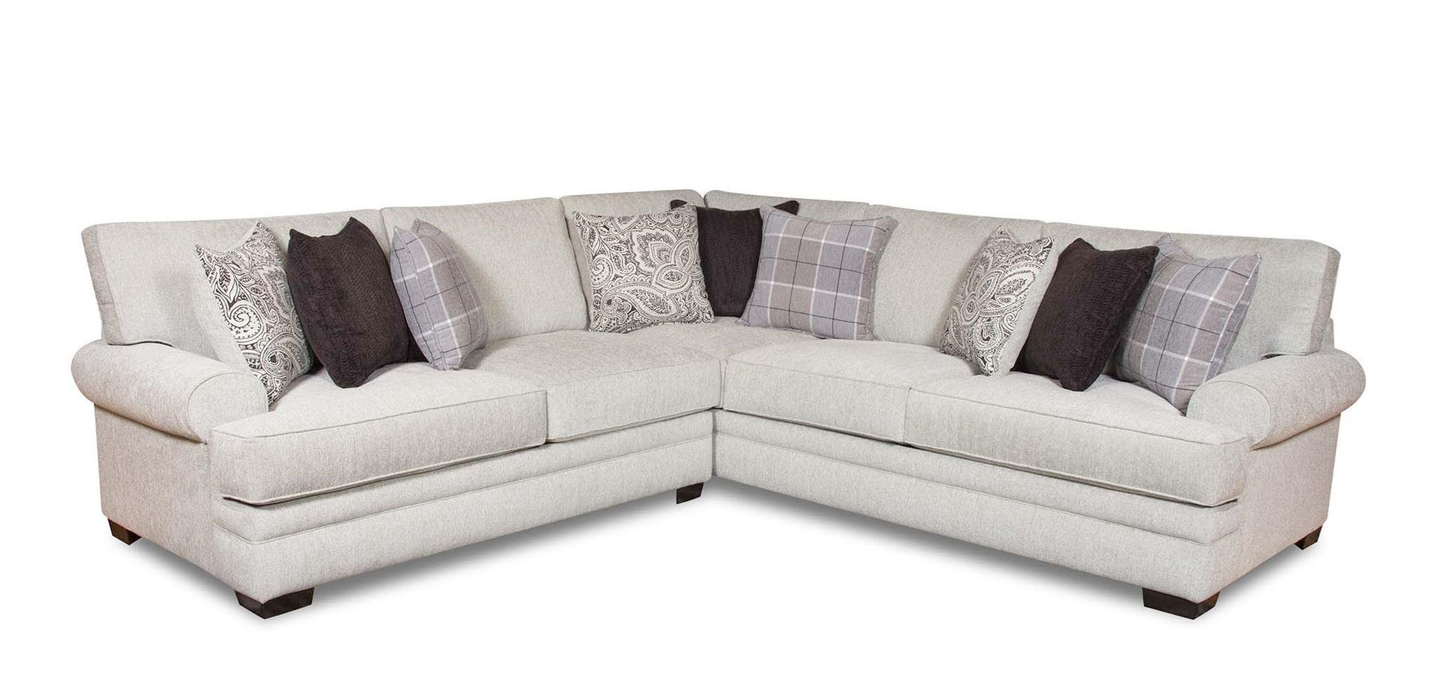 8642 transitional sectional sofa with chaise by albany dalton french grey review home co