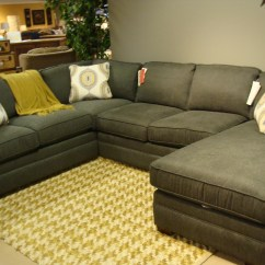 Custom Sectional Sofa Modern Grey Sleeper Customized Kenzie Style Chesterfield