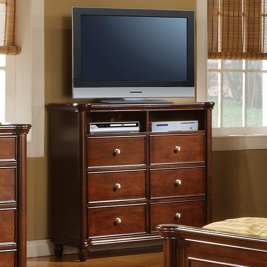 Elements International Hamilton Bedroom TV Stand Ivan