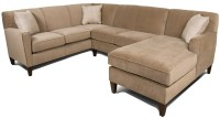 England Collegedale Contemporary 3-Piece Sectional Sofa ...