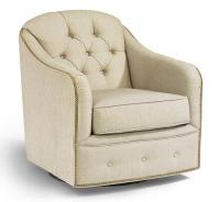 Flexsteel Accents Fairchild Swivel Chair | Hudson's ...