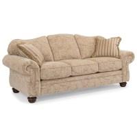 Flexsteel Bexley Traditional Sofa - Conlin's Furniture - Sofas