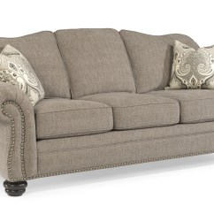 Flexsteel Bexley Sofa Beds At Target Traditional With Nail Head Trim ...