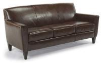 Flexsteel Digby Leather Sofa - Belfort Furniture - Sofas