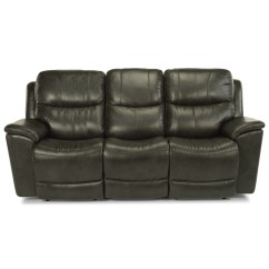 Flexsteel Double Reclining Sofa Reviews Leather Chaise With Storage Evian Power Review Home Co