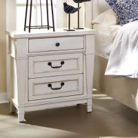 Folio 21 Stoney Creek 3 Drawer Night Stand - Boulevard ...