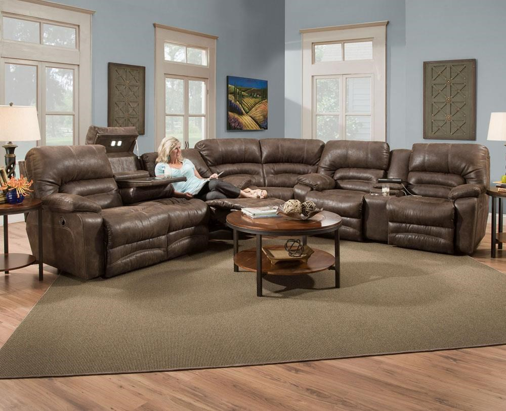 572 reclining sectional sofa with chaise by franklin macys sleeper in