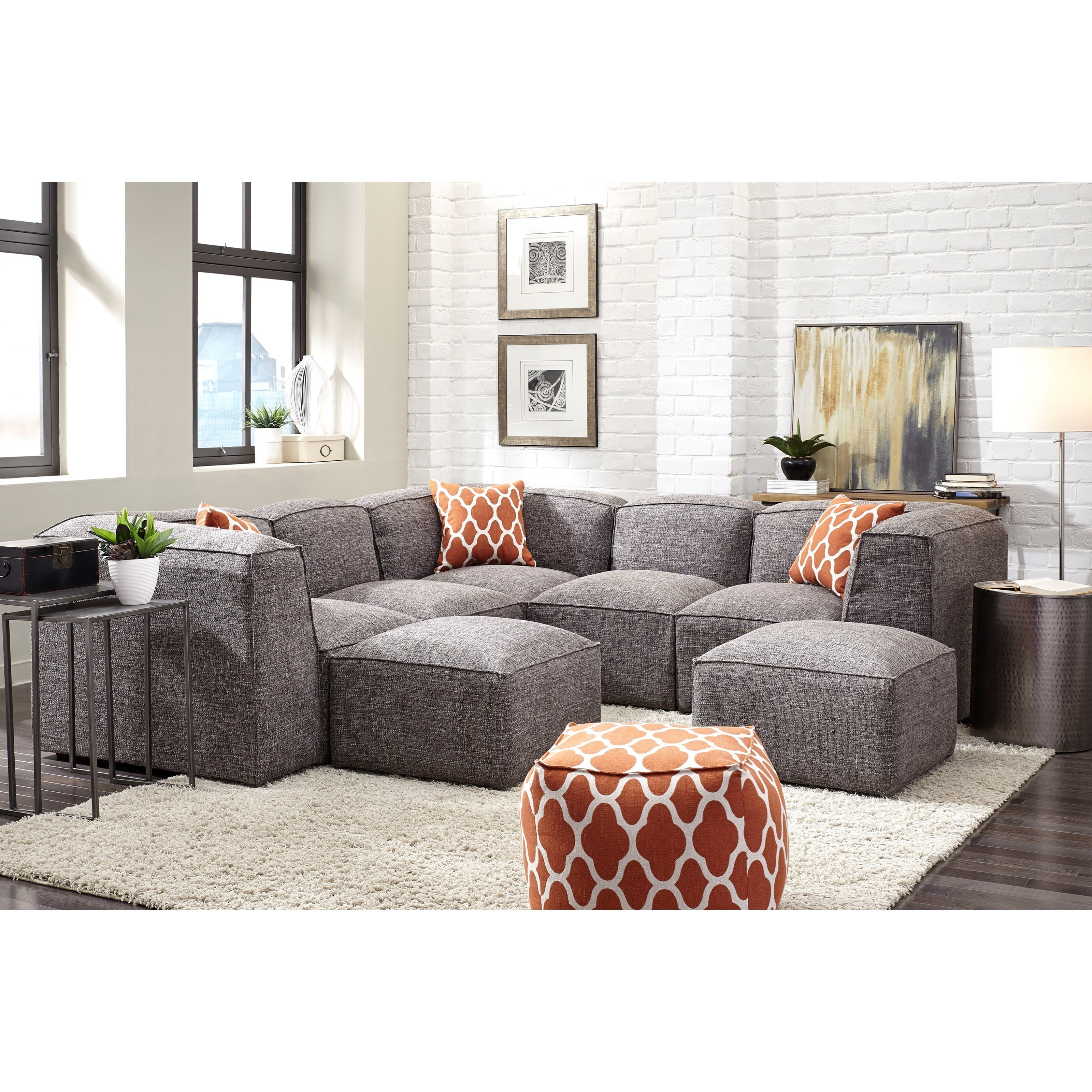 572 reclining sectional sofa with chaise by franklin tv tray in
