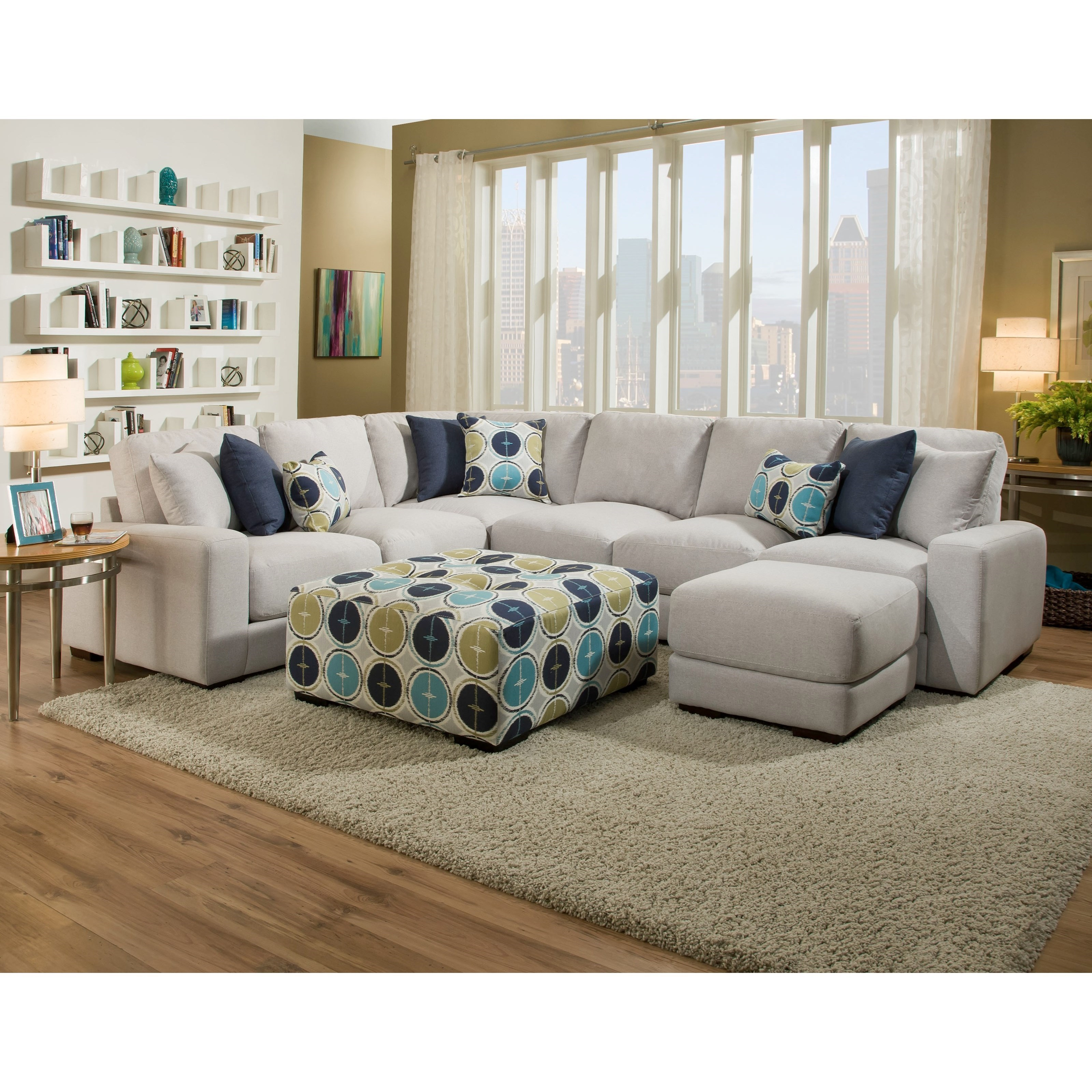 572 reclining sectional sofa with chaise by franklin rattan black cushions brayden thesofa