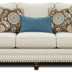 Sofa Nailhead Sectional Sofas Big Lots Trim Haskell Transitional Style
