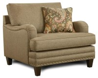 Fusion Furniture 5960 Transitional Chair with English ...