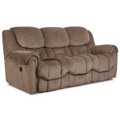 Lane Molly Double Reclining Sofa Queen Sleeper Length