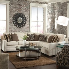 Wedge Table For Sectional Sofa Leather With Recliner Corner Huntington House