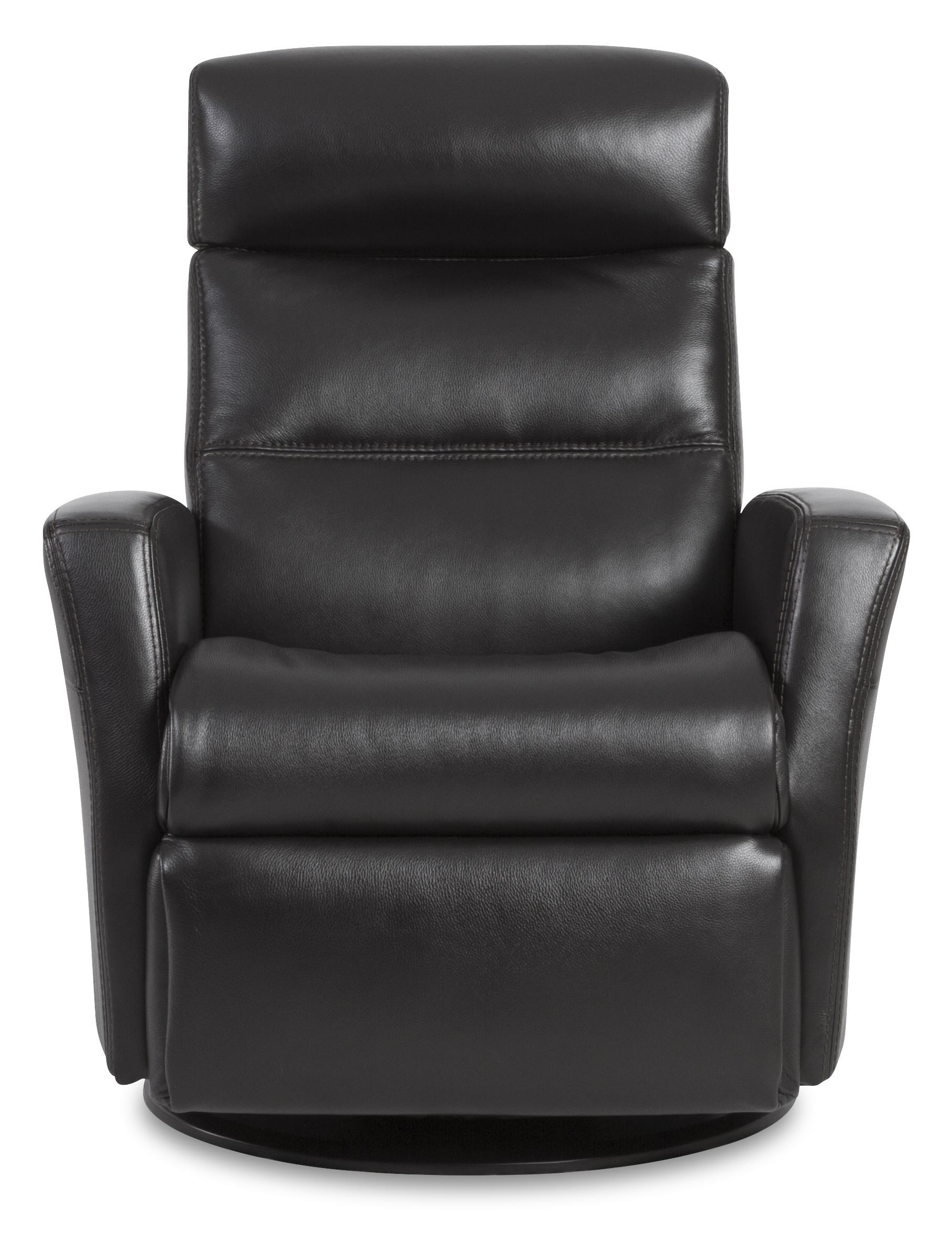 IMG Norway Divani CompactSize Manual Recliner with Swivel
