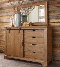 Kincaid Furniture Stone Ridge Transitional Rustic Sliding ...