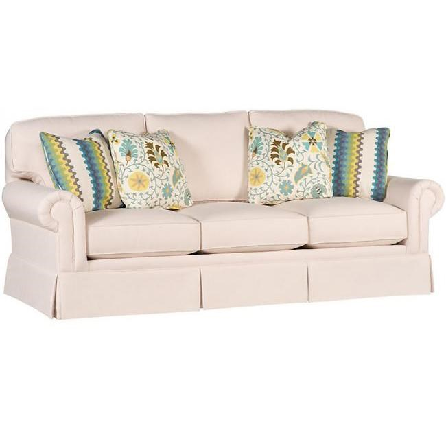 king hickory sofa winston westelm reviews transitional with rolled arms ...