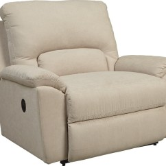 Reclining Chair And A Half Slipcover Herman Miller Desk Recliner Trendy Ashley