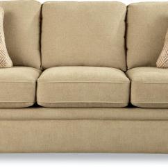 La Z Boy Diana Sleeper Sofa Beige Leather Sectional Cabinets Matttroy