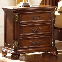 Liberty Furniture Messina Estates Nightstand with 3 ...