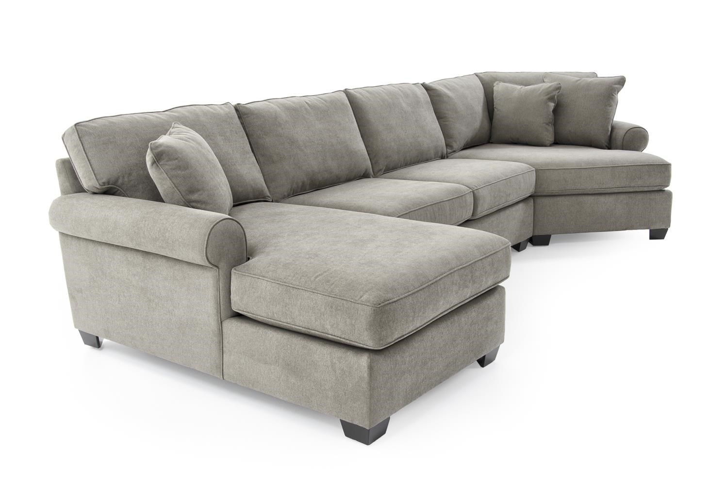 sofa with cuddler and chaise custom beds nyc energywarden