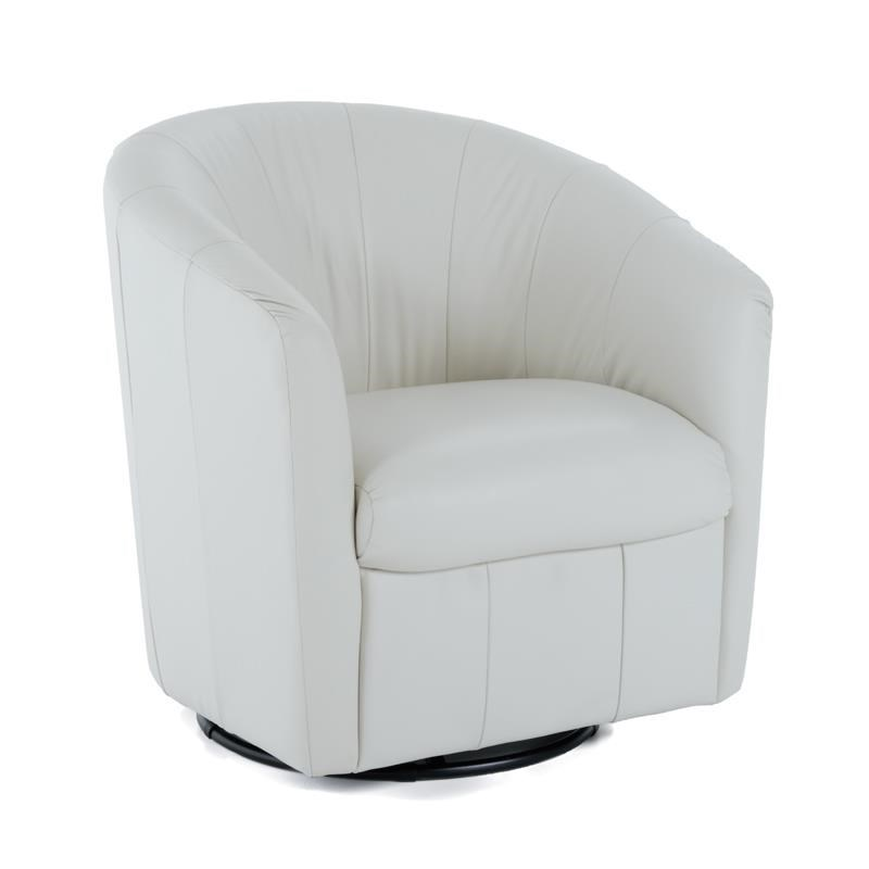 White Leather Swivel Chair White Leather Swivel Chair Home Ideas