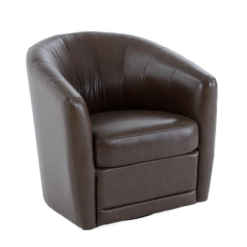 Natuzzi Editions B596 B596 066 Swivel Chair Baers