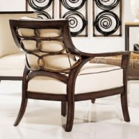 Palecek Accent Chairs by Palecek Transitional Rattan ...