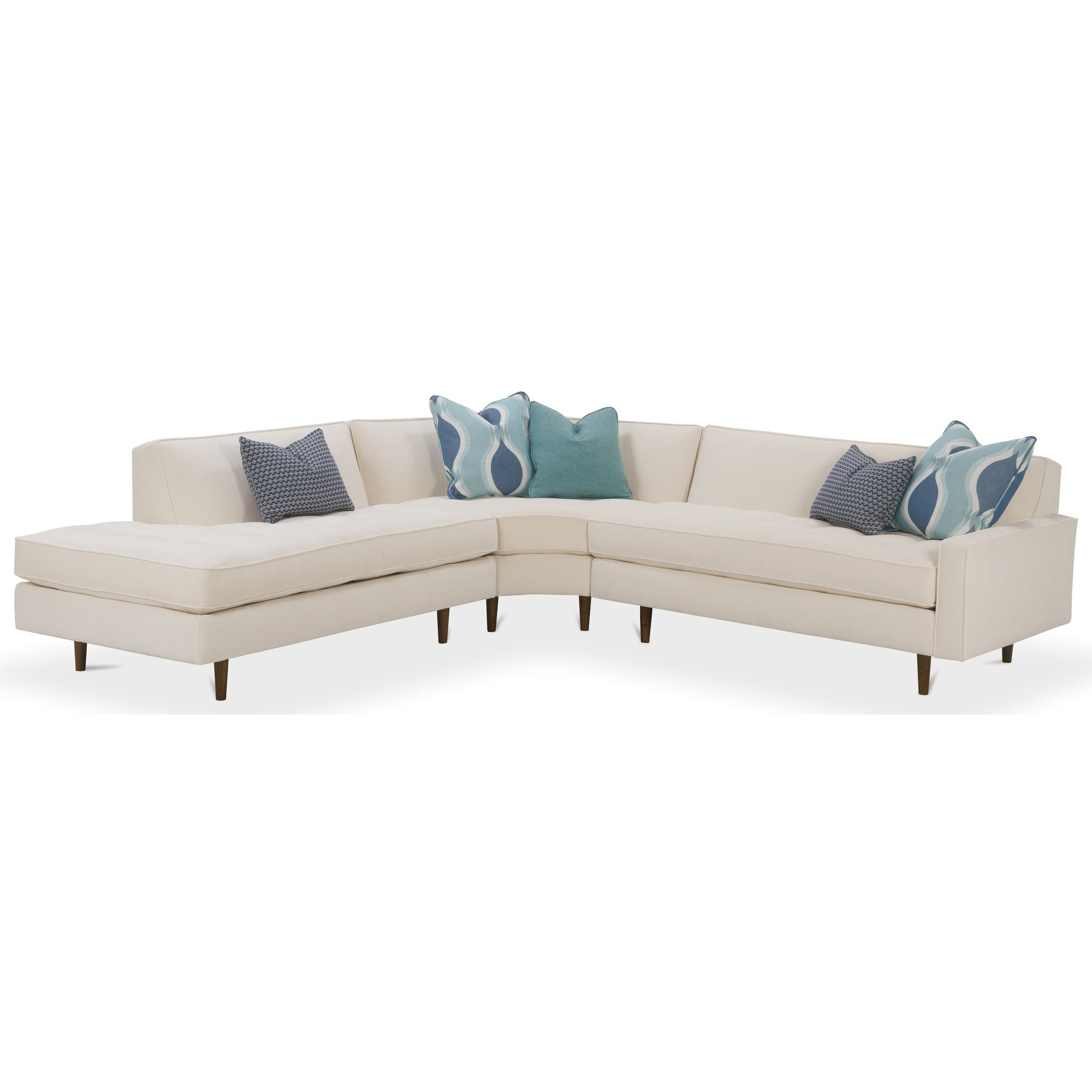 rowe masquerade sectional sofa trays sofas brady by furniture