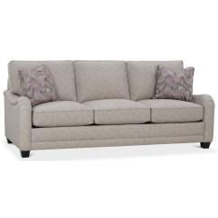 English Sofas Brown Leather Tufted Sofa Stock Abode Thesofa