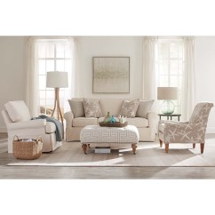 Threshold Sofa Cover Sears Bed Sectional Rowe Nantucket 84 3 Cushion Slipcover